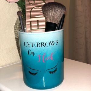 Other - Makeup brush and makeup holder